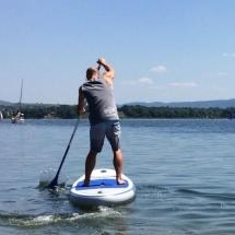 Atrakcje nad jeziorem żywieckim - Paddleboard, SUP, kajaki - Sport District