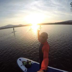 Atrakcje nadjeziorem Żywieckim, sup/paddleboard, kajaki, Sport District, Zarzecze